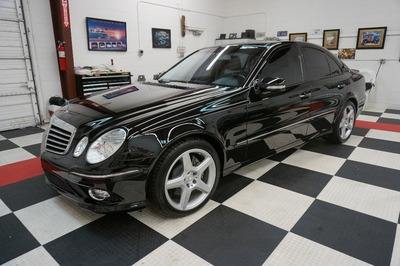 used 2009 mercedes benz e550 sport 5 5l at roadsport. Black Bedroom Furniture Sets. Home Design Ideas
